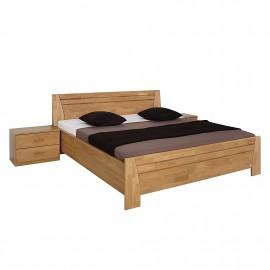 Łóżko 180x200 Drewno Olcha