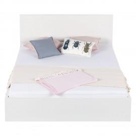Łóżko 140x200 Białe