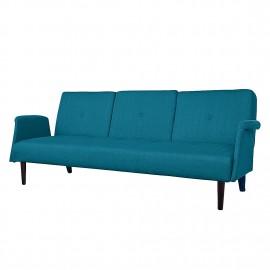 Sofa Rozkładana Retro Turkus