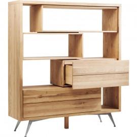 Regał 158x180 Drewno Dąb