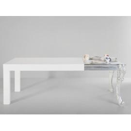 Stół 220x90 Biały Połysk
