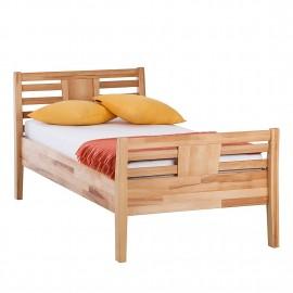 Łóżko 90x200 Drewno Buk