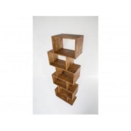 Regał 180 cm Drewno Palisander