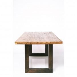 Stół Industrialny 160x90 Drewno+Stal