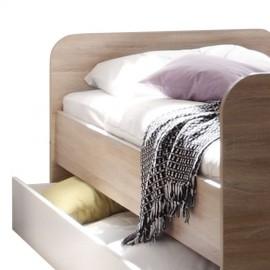 Łóżko 90x200 + Zabudowa
