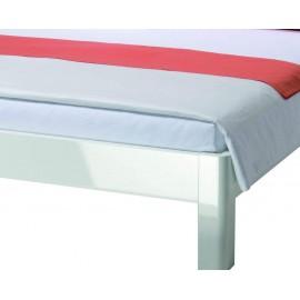 Łóżko 120x200 Biały Połysk