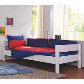 Łóżko 90x200 Białe + Stelaż