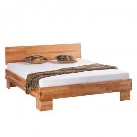 Łóżko 140x200 Drewno Buk