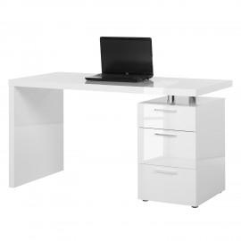 Biurko Biały Połysk 115x60