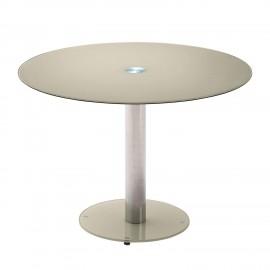 Stół Szklany Śr.100 Cm