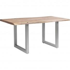 Stół Industrialny 160x80 Drewno+Stal