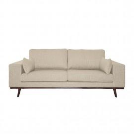 Sofa 3 os 213 cm Złota