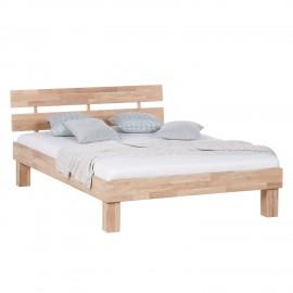 Łóżko 160x200 Drewno Dąb
