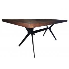 Stół 200x100 Akacja+ Metal