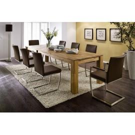 Mega Stół 160-250x90 Drewno Dąb