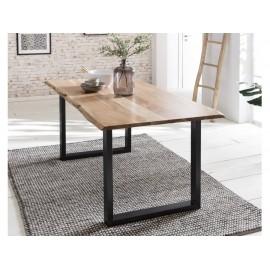 Stół Industrialny 140x80 Akacja