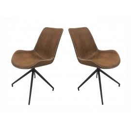 Krzesła Zestaw 4 szt Obrotowe