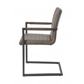 Krzesła Zestaw 4 szt z Podłokietnikami