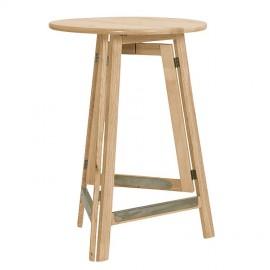 Stół Barowy Składany Sosna