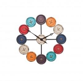 Zegar Ścienny Guziki Śr.80 cm