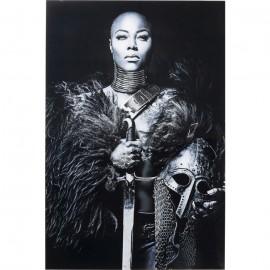Obraz na szkle Lady Knight