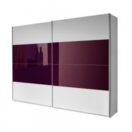 Szafa 226x219 Biały + Fiolet