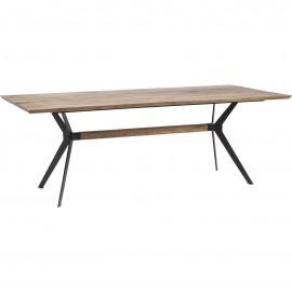 Stół Industrialny 220x100 Dąb