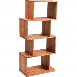 Regał 120x55 cm Drewno Palisander