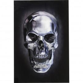 Obraz na szkle Skull 120x80
