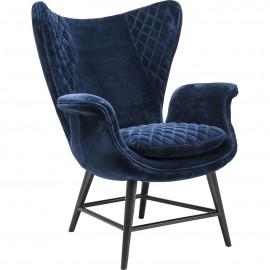 Fotel Retro Niebieski