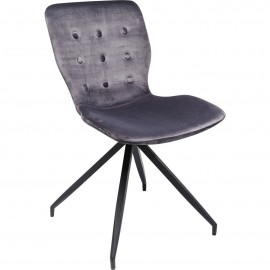 Krzesła Zestaw 4 szt Aksamit