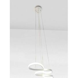 Lampa LED Biała