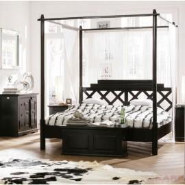 Łóżko 180x200 Baldachim