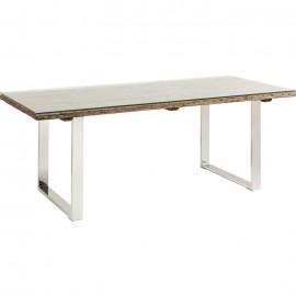 Stół 200x90 Recykling + szkło