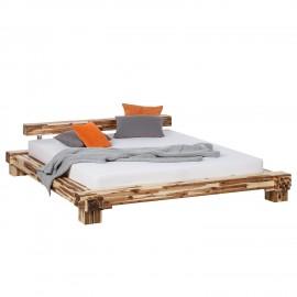 Łóżko 140x200 Drewno Akacja