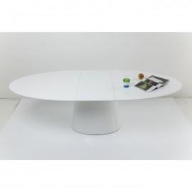 Stół Biały Połysk 200-250x110 Rozkładany