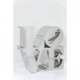 Dekoracja Love 100x100 cm Stal