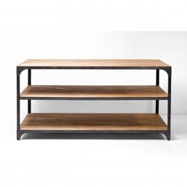 Stół 200x100x101 Drewno + Stal