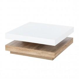 Stolik Biały Połysk 75x75