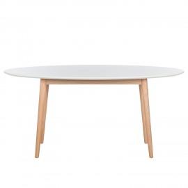 Stół Retro 170x90 Biały + Dąb
