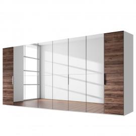 Szafa 399x223 Biały + Dąb Sanremo WYPRZEDAŻ
