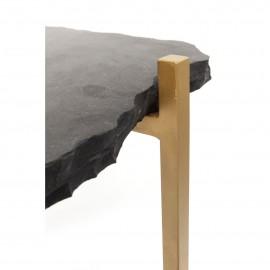 Stół Barowy 60x30 Stal + Granit