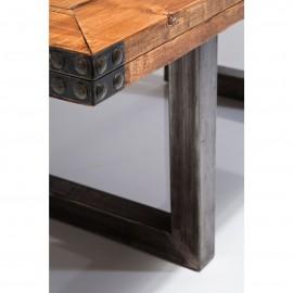 Stół Industrialny 220x1000 Drewno+Stal