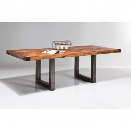 Stół Industrialny 220x100 Drewno+Stal