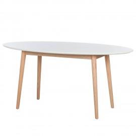 Stół Retro 190x100 Biały + Dąb WYPRZEDAŻ