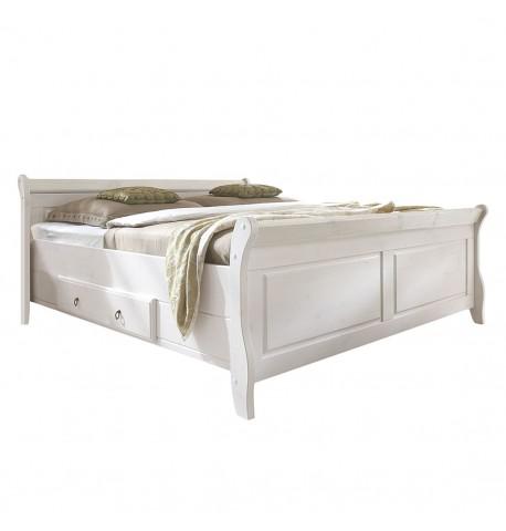 Łóżko Drewno Sosna