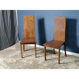 Krzesła Drewno Akacja 2szt