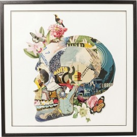 Obraz Art skull 100x100