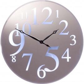 Zegar Ścienny Lustro  Śr.90 cm