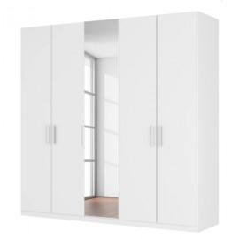 Szafa 225cm 5 Drzwi Biała